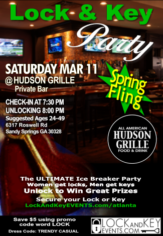 Lock And Key at Hudson Grille Sandy Springs