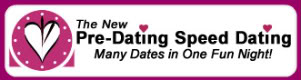 Pre Dating - The National Speed Dating Service For Busy Single Professionals in 100+ Cities